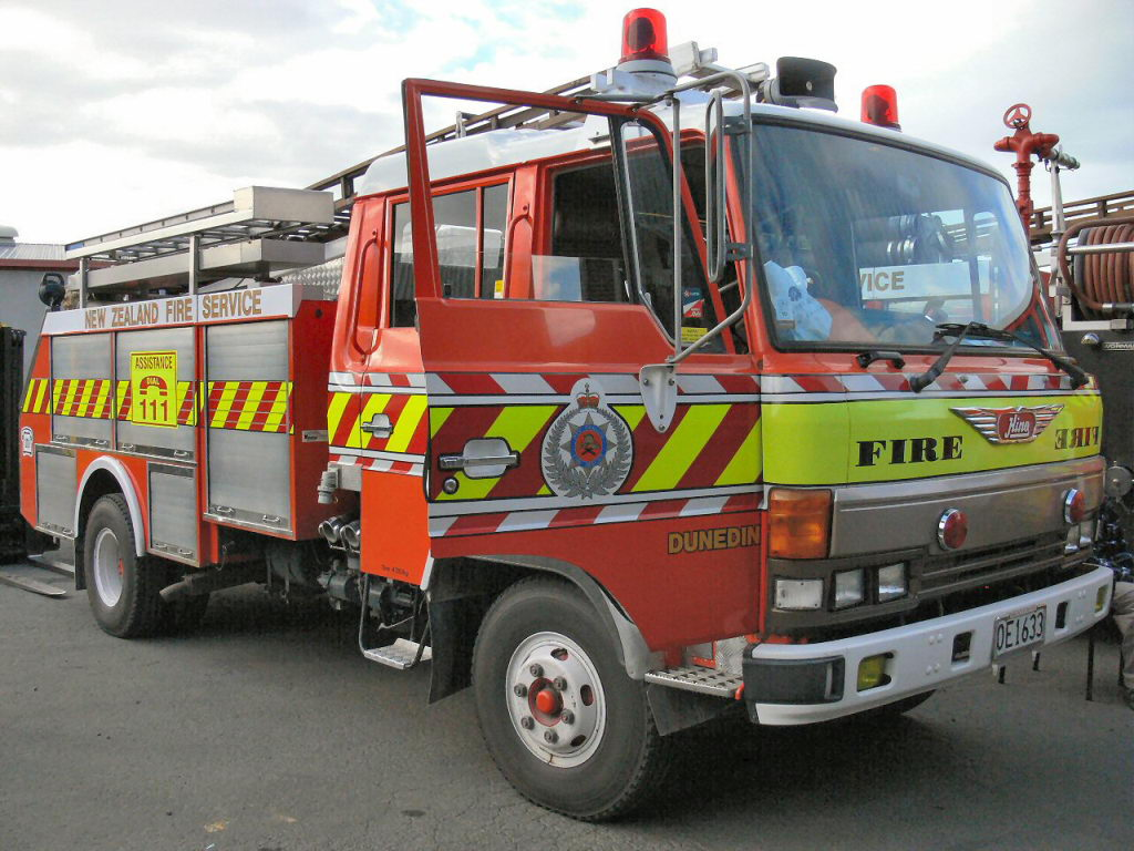 haast rural fire force station