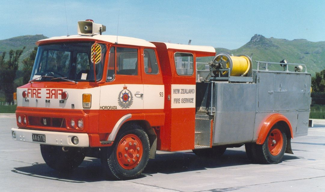 West Coast Rural Fire District Training Appliance